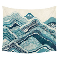 Mountains of Life Wall Tapestry