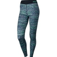Nike Women's Pro Warm Static Printed Tights