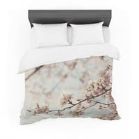 "Catherine McDonald ""Japanese Cherry Blossom"" Featherweight Duvet Cover"