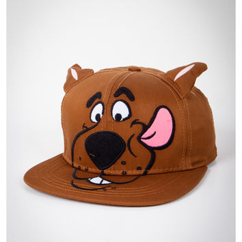 Scooby Doo with Ears Snapback Hat