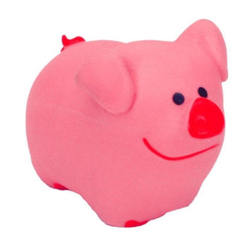 Coastal Pet Lil Pals Latex Pink Pig Puppy Dog Toy