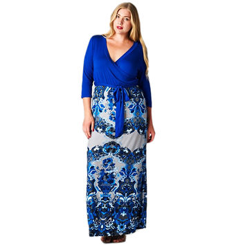 Until Tomorrow Maxi Dress Curvy
