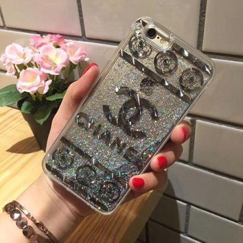 Onetow One Nice? Perfect Chanel Fashion Personality Shining Iphone Phone Cover Case For Iphone 6 6s 6plus 6s Plus 7 7plus