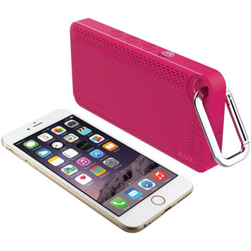 Iluv Splashproof Bluetooth Speaker (pink)