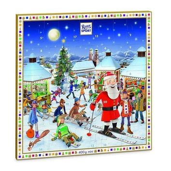 Ritter Sport Minis Advent Calendar, 14.1 oz (400 g)