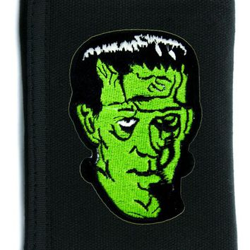ac spbest Frankenstein Classic Movie Monster Tri-fold Wallet w/ Chain Occult Clothing