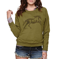 RVCA Horse Pullover Fleece at PacSun.com
