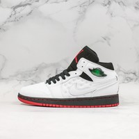 Air Jordan 1 Retro '97 White Black-Gym Red Sneaker - Best Deal Online
