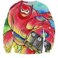 Baymax Action Sweater