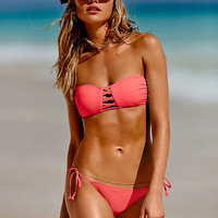 Strappy Bandeau Top - PINK - Victoria's Secret