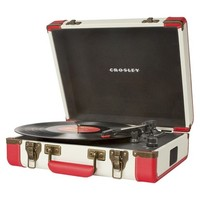 Crosley Executive Turntable - Red (CR6019A-RE)