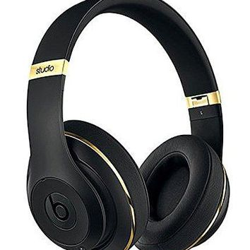 Beats Studio 2.0 Wireless Over-Ear Headphones Alexander Wang Limited Edition (Black & Gold)