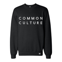 COMMON CULTURE FLOCK CREWNECK | Apparel | Common Culture Store