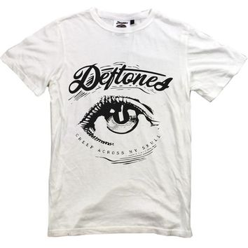 DEFTONES Eye White T Shirt