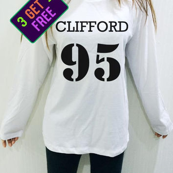 Michael Clifford Shirt 95 5sos 5 sos White Unisex Men Women Tshirt Long Sleeve
