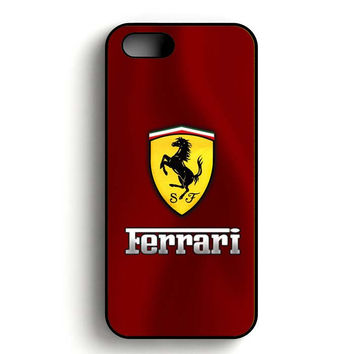 Ferrari Logo iPhone 5, iPhone 5s and iPhone 5S Gold case