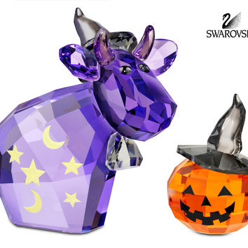 Swarovski Crystal Figurine HALLOWEEN CAW MAGIC MO 2012 #1139968