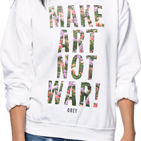 Obey Imagine Crew Neck Sweatshirt