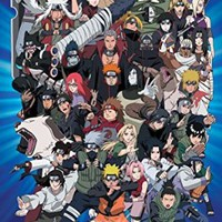 Naruto Characters Poster 24 x 36in
