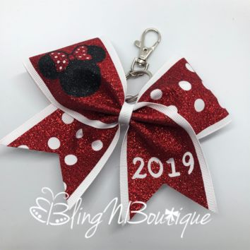Minnie My Key Chain Bow