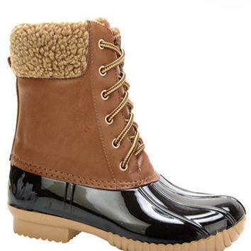 Lucky Duck Boots in Wheat