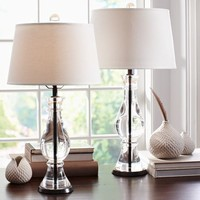 MARSTON CRYSTAL TABLE & BEDSIDE LAMP BASES