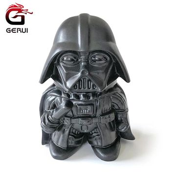 GERUI Star Wars Darth Vader Shape Herb Grinder Zinc Alloy Creative Design Tooth Tobacco Grinder Weed Cigarette Smoking