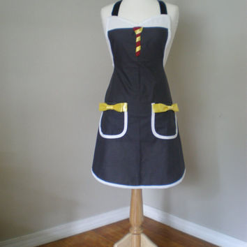 Harry Potter inspired cosplay costume Apron