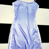 SWEET LORD O'MIGHTY! SILK KITTEN DRESS IN BLUE