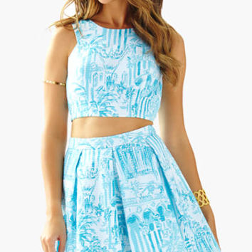 Melody Crop Top & Pleated Skirt Set - Lilly Pulitzer