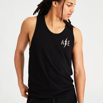 AE Active Graphic Tank Top, Black