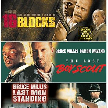 Bruce Willis & Mos Def & Richard Donner & Tony Scott-Bruce Willis Triple Feature: (The Last Boy Scout / Last Man Standing / 16 Blocks)