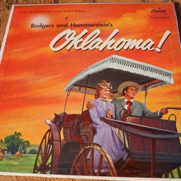 SALE Rodgers and Hammerstein's Oklahoma Soundtrack by ZoeAmaris