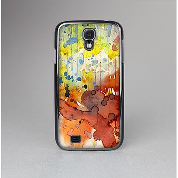 The WaterColor Grunge Setting Skin-Sert Case for the Samsung Galaxy S4