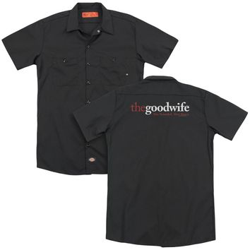 The Good Wife - Logo (Back Print) Adult Work Shirt