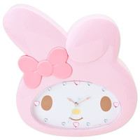 My Melody Face Shaped Wall Clock SANRIO JAPAN