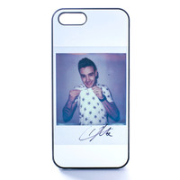 Liam Payne Signed Polaroid  Case