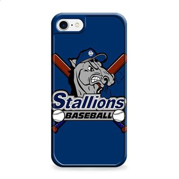 STALLIONS BASEBALL LOGO BLUE iPhone 6 | iPhone 6S case