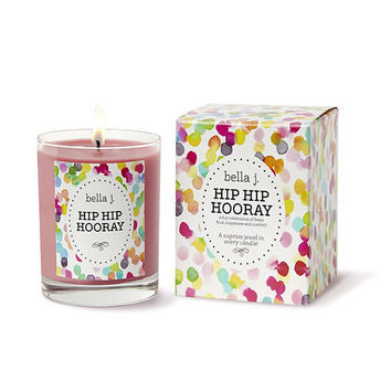 HIP HIP HOORAY Candle