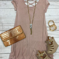 Endless Style Dress SS: Dusty Rose