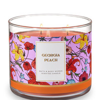 GEORGIA PEACH3-Wick Candle