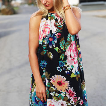 You Could Be Floral Dress
