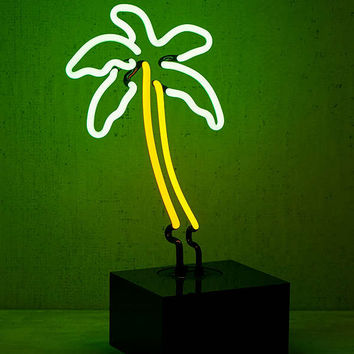 Neon Mfg. Neon Palm Tree Table Lamp | Urban Outfitters