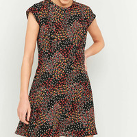 Urban Outfitters Daytime Black Printed Dress - Urban Outfitters