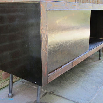 Media Console / TV  Stand   ( Steel Collection)