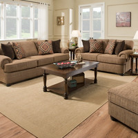 Beautyrest Shelby Multi Sofa and Loveseat