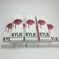 2016 new kylie lip gloss 2PCS/Set kylie jenner lip kit matte liquid Lip Gloss In Stock kylie cosmetics lipgloss in hot sale