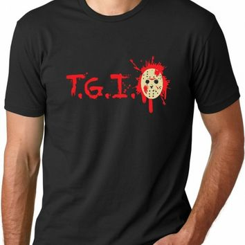 T.G.I. Friday the 13th Horror T-shirt | CrazyDog T-shirts
