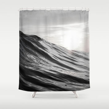 Motion of Water Shower Curtain by Nicklas Gustafsson