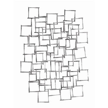 Arteriors Home Ecko Natural Iron Wall Sculpture - Arteriors Home 6799